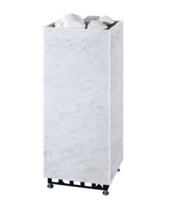 Электрическая печь для сауны Tulikivi Rae 6,8 кВт белый мрамор
